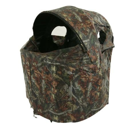 2 Person Pop Up Camo Chair Hide Quick Erect Shooting Photography Tent Waterproof